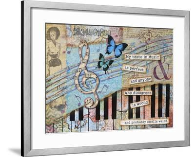 Musical Perfection-Let Your Art Soar-Framed Giclee Print
