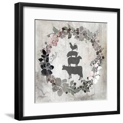 DownOnTheFarm V8-LightBoxJournal-Framed Giclee Print