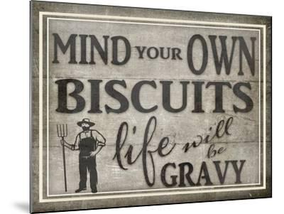 Mind Your Biscuits BK-LightBoxJournal-Mounted Giclee Print