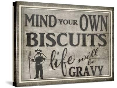 Mind Your Biscuits BK-LightBoxJournal-Stretched Canvas Print