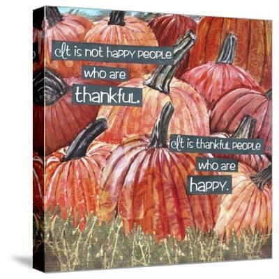 Thankful Pumpkins-Let Your Art Soar-Stretched Canvas Print