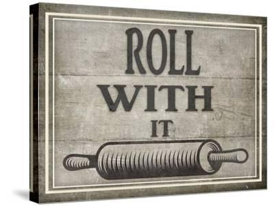 Roll With It BK-LightBoxJournal-Stretched Canvas Print