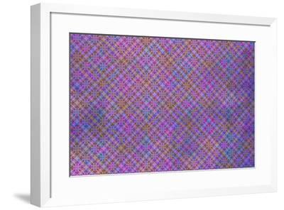Cherry Blu Pattern 04-LightBoxJournal-Framed Giclee Print
