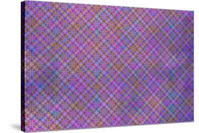 Cherry Blu Pattern 04-LightBoxJournal-Stretched Canvas Print