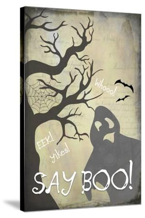 Say Boo 01-LightBoxJournal-Stretched Canvas Print