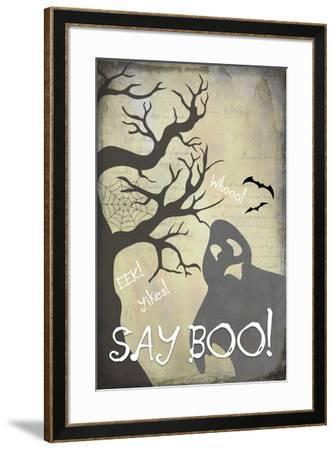 Say Boo 01-LightBoxJournal-Framed Giclee Print