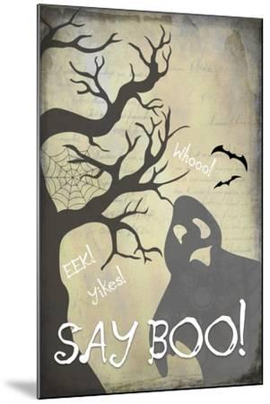 Say Boo 01-LightBoxJournal-Mounted Giclee Print