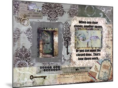 Adoor Me-Let Your Art Soar-Mounted Giclee Print