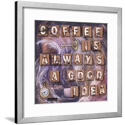 Coffee Time-Let Your Art Soar-Framed Giclee Print
