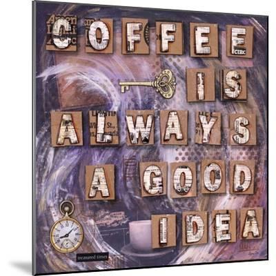Coffee Time-Let Your Art Soar-Mounted Giclee Print