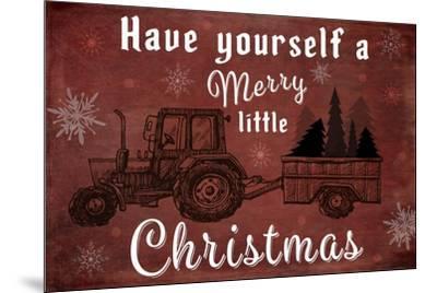 25 Days Til'Christmas 017-LightBoxJournal-Mounted Giclee Print
