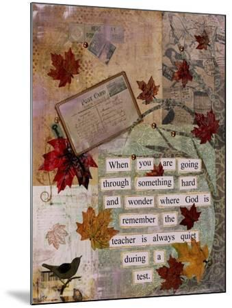 Autumn Test-Let Your Art Soar-Mounted Giclee Print