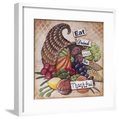 Be Thankful-Let Your Art Soar-Framed Giclee Print