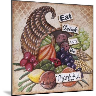Be Thankful-Let Your Art Soar-Mounted Giclee Print