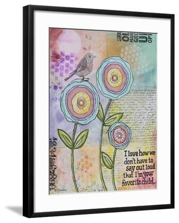 Favorite One-Let Your Art Soar-Framed Giclee Print