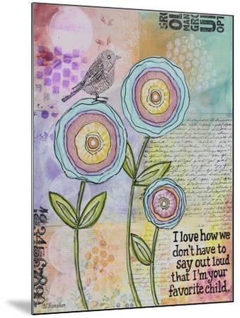 Favorite One-Let Your Art Soar-Mounted Giclee Print