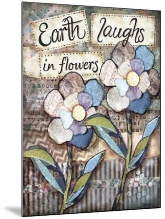 Earth Laughs-Let Your Art Soar-Mounted Giclee Print