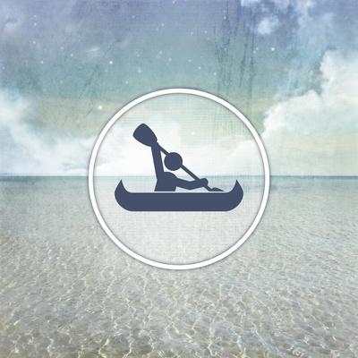 Signs_SeaLife_Kayaker-LightBoxJournal-Framed Giclee Print