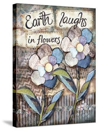 Earth Laughs-Let Your Art Soar-Stretched Canvas Print