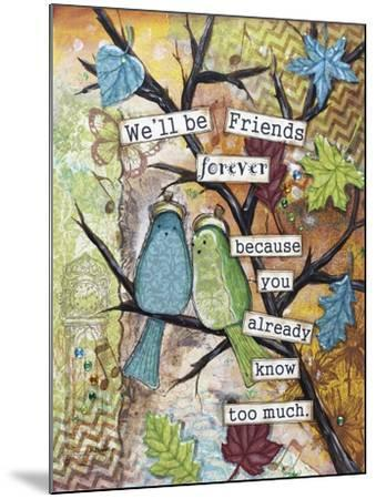 Friends Forever-Let Your Art Soar-Mounted Giclee Print