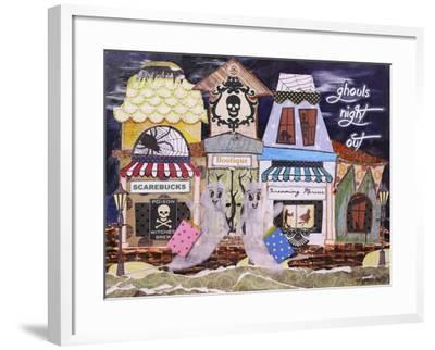 Ghouls Night Out-Let Your Art Soar-Framed Giclee Print