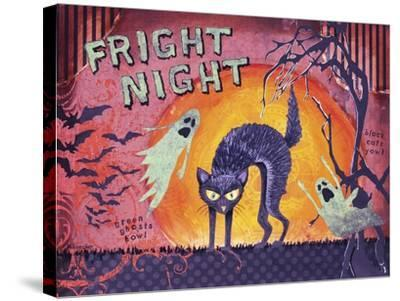 Fright Night-Let Your Art Soar-Stretched Canvas Print