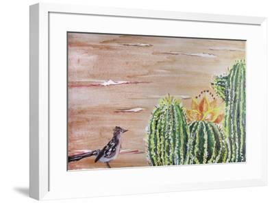 Roadrunner-Lauren Moss-Framed Giclee Print