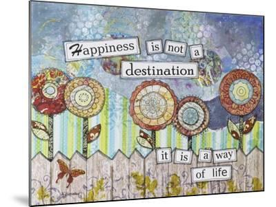 Happy Destinations-Let Your Art Soar-Mounted Giclee Print