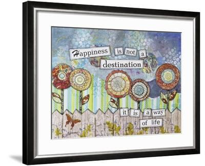 Happy Destinations-Let Your Art Soar-Framed Giclee Print