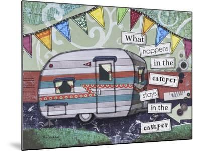 Happy Camper-Let Your Art Soar-Mounted Giclee Print