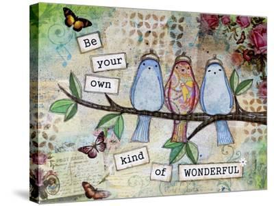 Kind of Wonderful-Let Your Art Soar-Stretched Canvas Print