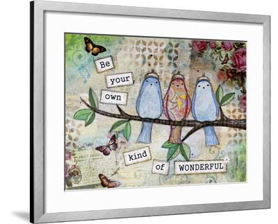 Kind of Wonderful-Let Your Art Soar-Framed Giclee Print