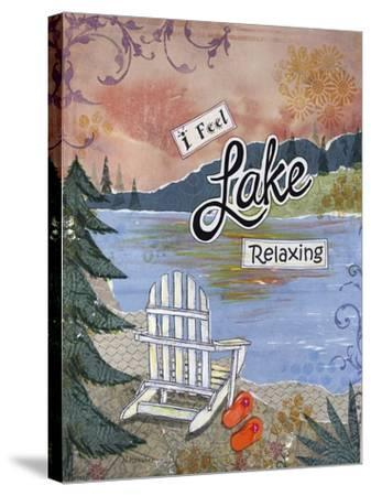 Lake Relaxing-Let Your Art Soar-Stretched Canvas Print