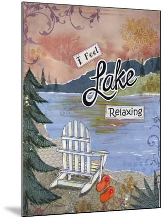 Lake Relaxing-Let Your Art Soar-Mounted Giclee Print