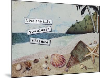 Imaginary Life-Let Your Art Soar-Mounted Giclee Print