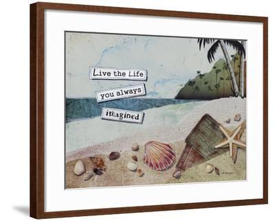 Imaginary Life-Let Your Art Soar-Framed Giclee Print