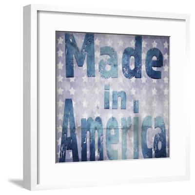American Born Free Sign Collection V4-LightBoxJournal-Framed Giclee Print