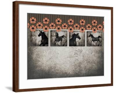 GypsyHorse CollectionSurfacePattern V2 10-LightBoxJournal-Framed Giclee Print