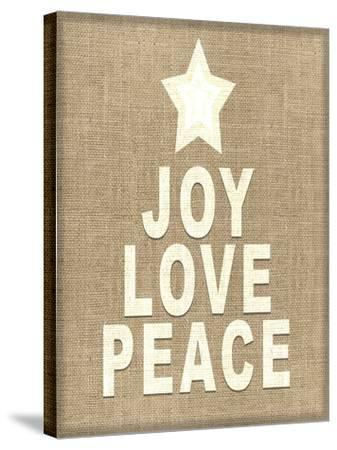 Personalized Christmas Sign V33 V3-LightBoxJournal-Stretched Canvas Print