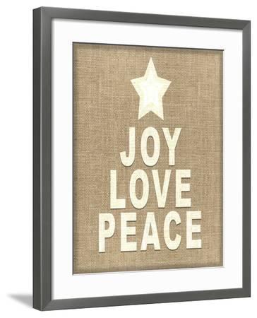 Personalized Christmas Sign V33 V3-LightBoxJournal-Framed Giclee Print