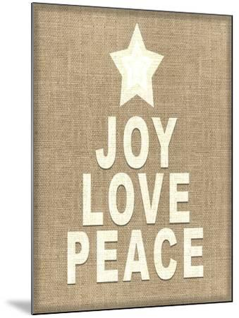 Personalized Christmas Sign V33 V3-LightBoxJournal-Mounted Giclee Print