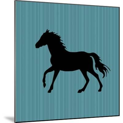 GypsyHorse CollectionSurfacePattern V2 12-LightBoxJournal-Mounted Giclee Print
