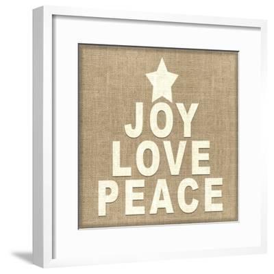 Personalized Christmas Sign V33 V5-LightBoxJournal-Framed Giclee Print