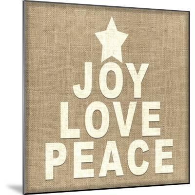 Personalized Christmas Sign V33 V5-LightBoxJournal-Mounted Giclee Print