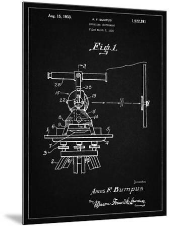 PP865-Vintage Black Gurly Transit Patent Poster-Cole Borders-Mounted Giclee Print