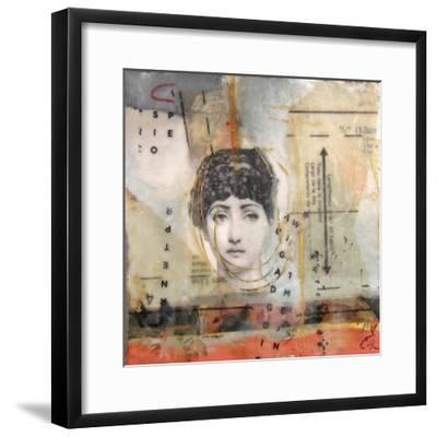 Getting Ready For The Date-lovISart-Framed Giclee Print