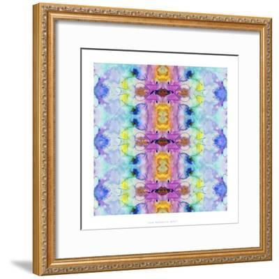 Watercolor Rainbow Hallucination-Lisa Katharina-Framed Giclee Print