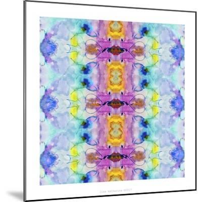 Watercolor Rainbow Hallucination-Lisa Katharina-Mounted Giclee Print