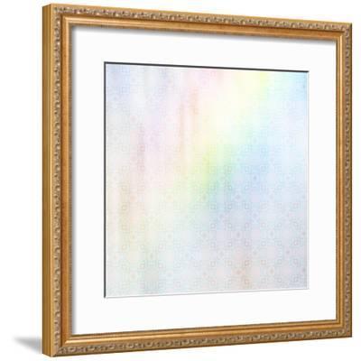 Apple Blossoms Pattern 01-LightBoxJournal-Framed Giclee Print