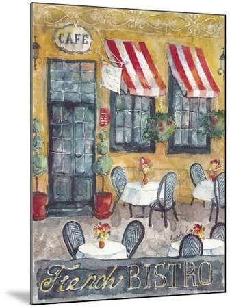 French Bistro-Marietta Cohen Art and Design-Mounted Giclee Print